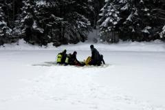 Lumised seiklused jää all